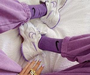 fashion, purple, and nike image