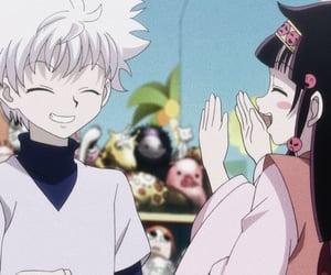 anime, killua, and alluka image