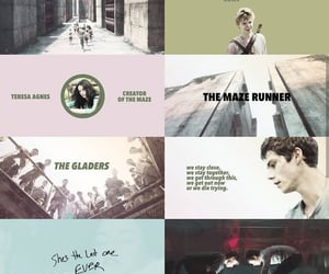 aesthetic, the maze runner, and edit image