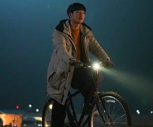 boy, Korean Drama, and night image