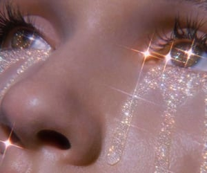 aesthetic, bling, and eyes image