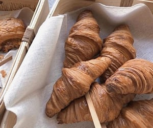 croissant, food, and aesthetic image