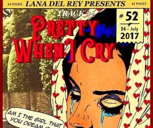 woman and lana del rey image