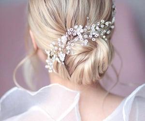 bride, casamento, and hair image
