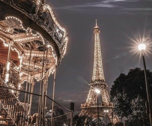 carrousel, paris, and france image