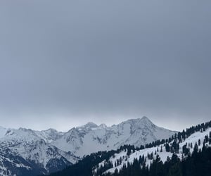 mountains, photography, and Skiing image
