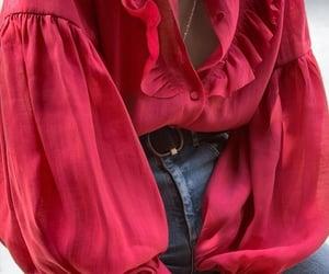 blouse, elegant, and fashion image