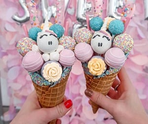 cake pops and snowcone image