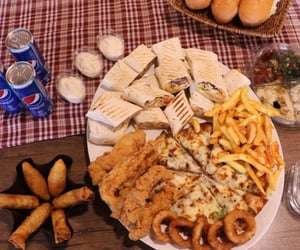 fast food, food, and love image