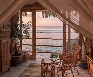 home, beach, and nature image
