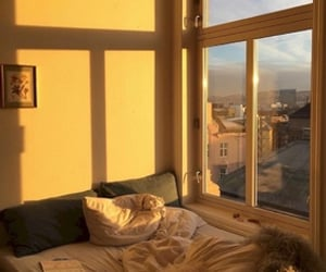 yellow, aesthetic, and room image