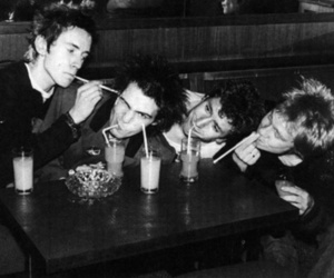 sex pistols, punk, and black and white image