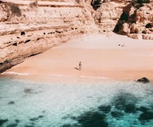 algarve, beach, and places image