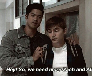 13 reasons why, miles heizer, and zach dempsey image