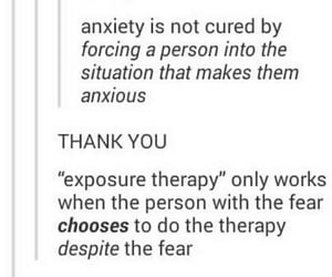 anxiety, awareness, and exposure image