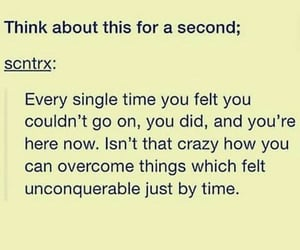 anxiety, don't give up, and goals image
