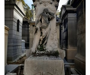 art, cemetery, and france image