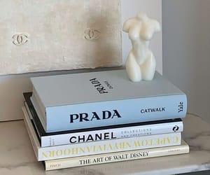 Prada, book, and chanel image