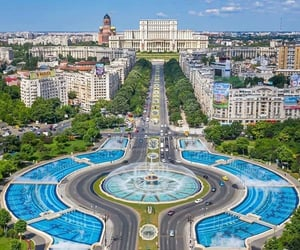 bucharest, cities, and city image