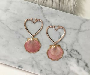 earrings, pink, and accessories image
