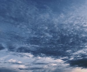 blue, clouds, and skyscape image