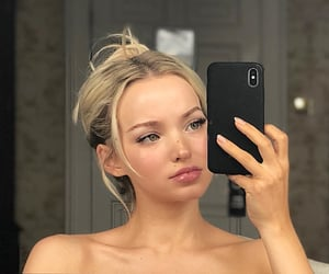 beauty, dove cameron, and blonde image