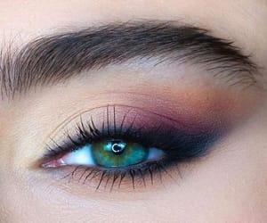makeup, eye, and fashion image