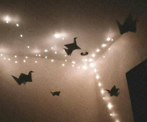 aesthetic, cozy, and fairy lights image