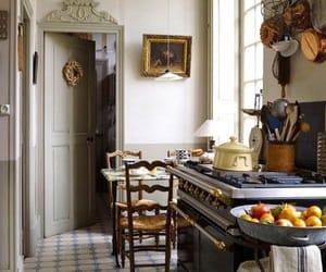 interior, vintage, and kitchen image