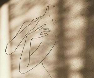 aesthetics, woman, and art image