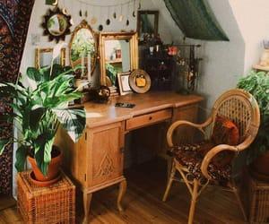 interior, boho, and home image