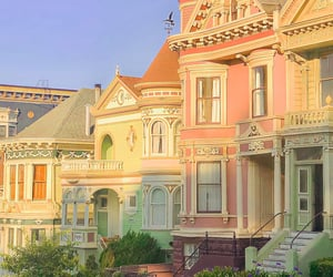 pastel, aesthetic, and house image