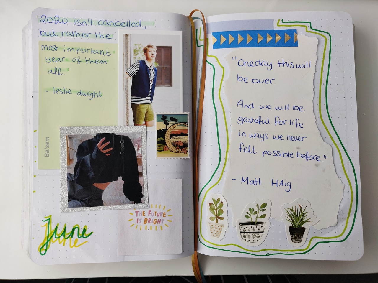 article, journaling, and 365 days image