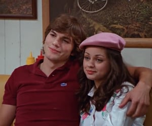 couple, that 70s show, and love image