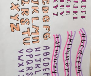 colores, letras, and lettering image