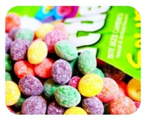 candy, sweets, and sourskittles image
