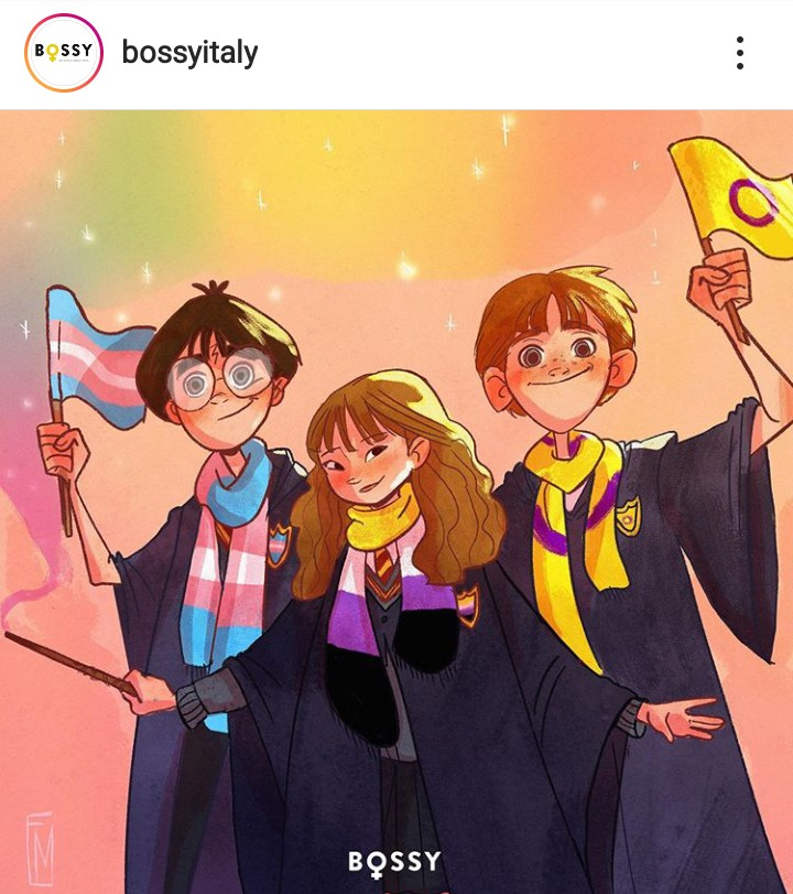 fanart, harry potter, and hermione granger image