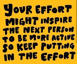 effort, speak up, and support image