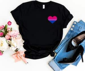 etsy, bisexual shirt, and lgbtq shirt image