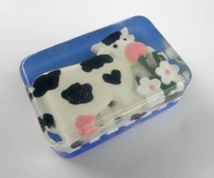 cute, aesthetic, and cow image