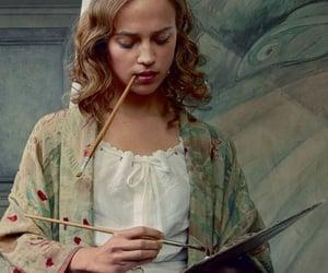 alicia vikander, the danish girl, and art image