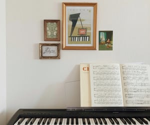 chopin, home, and music image
