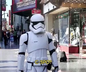 C-3PO, c3po, and star wars image