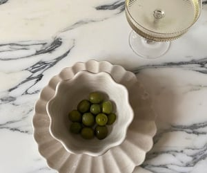 champagne and olives image