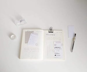 journal, planner, and stationery image