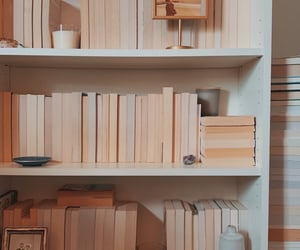 beige, book, and books image