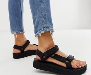 sandals, style, and teva image