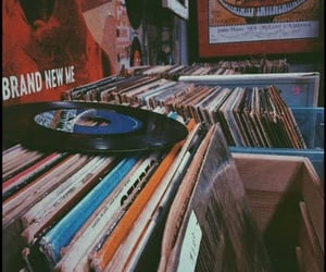 music, aesthetic, and vintage image
