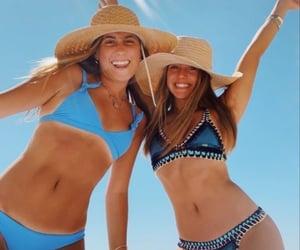 beach, bestfriends, and friends image