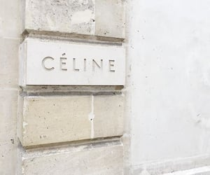 celine, white, and beige image
